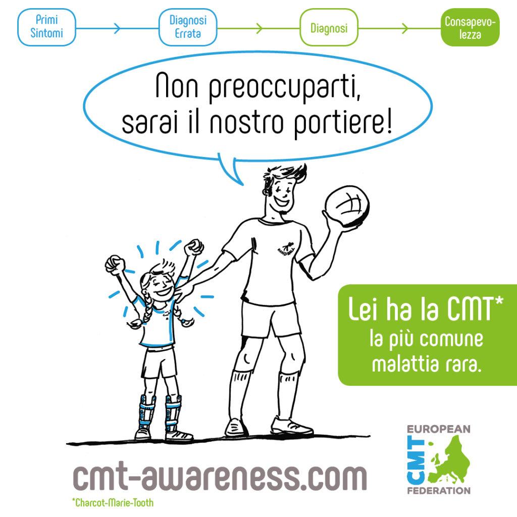 Campagna europea sulla Charcot-Marie-Tooth Medici Integrazione
