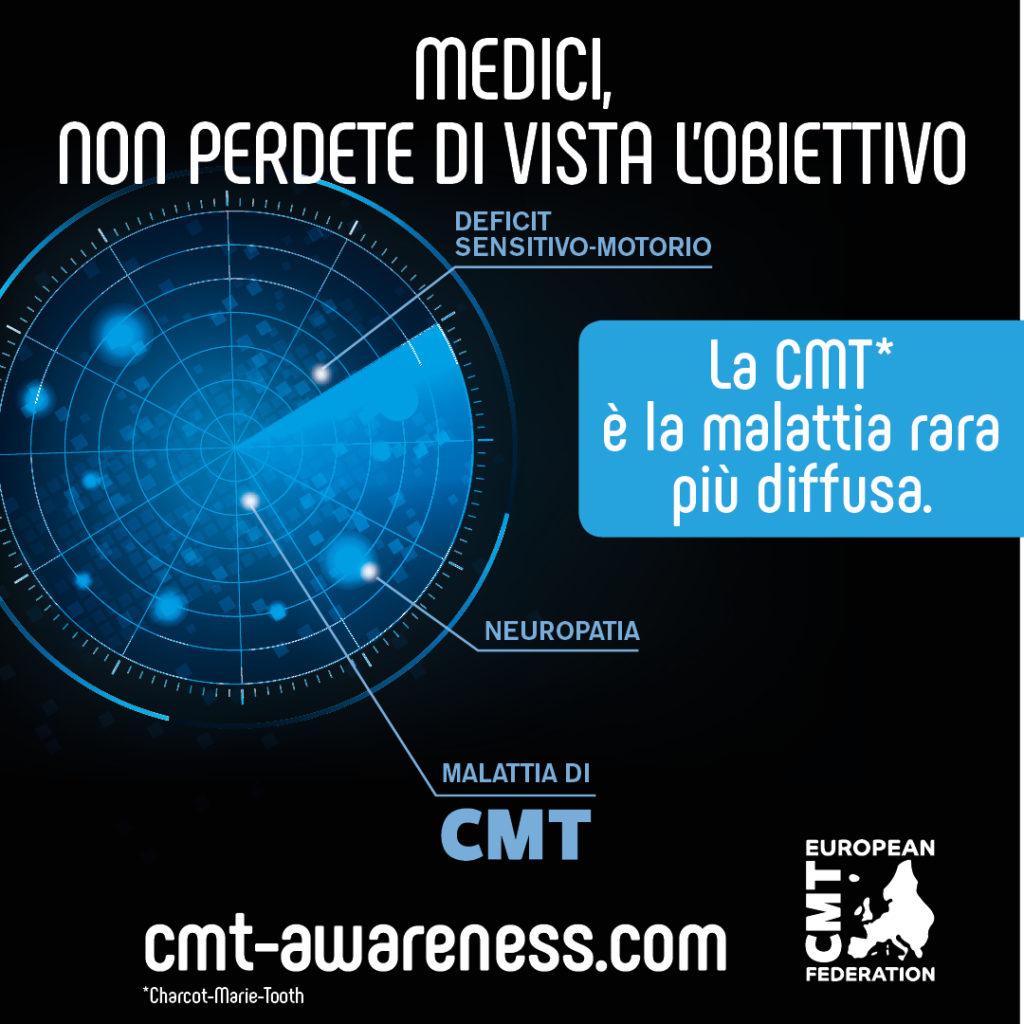 Campagna europea sulla Charcot-Marie-Tooth Medici Obiettivo