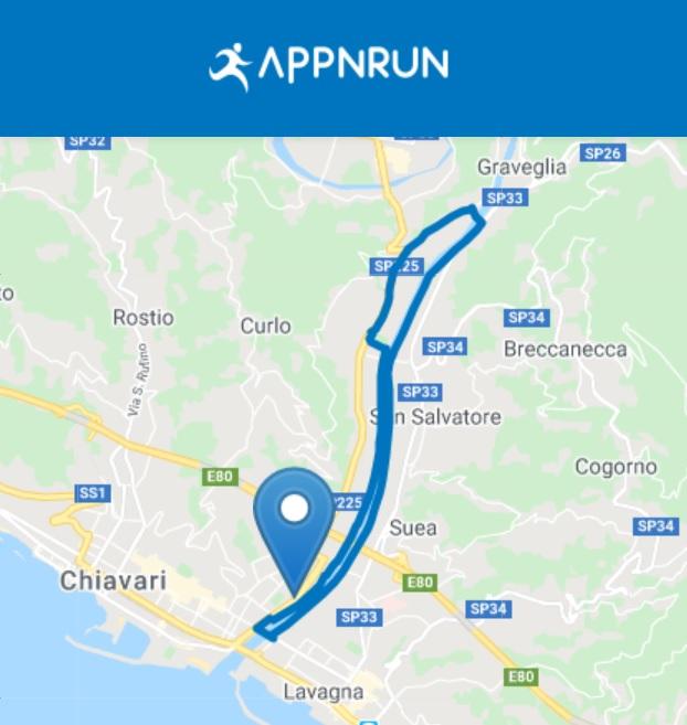 Il percorso della Genova V Running Challenge 2020