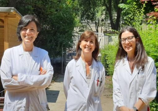 La squadra di Neurologia Pediatrica al Besta: Moroni, Ardissone, Pagliano