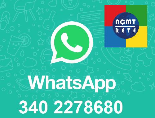 Punto di ascolto telefonico CMT WhatsApp